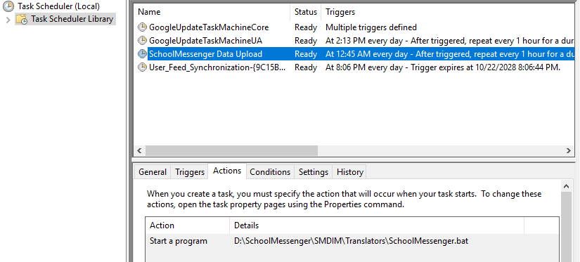 Active Directory - Scheduled Tasks Using a gMSA